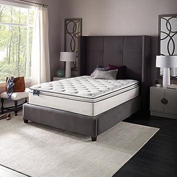 "Slumber Pillow Top Mattress 13"" W Foam Twin Full Queen King Bed (Twin)"