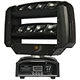 8x3W Mini LED Spider Moving Head Light for Club Dj Disco Party Stage Event Show