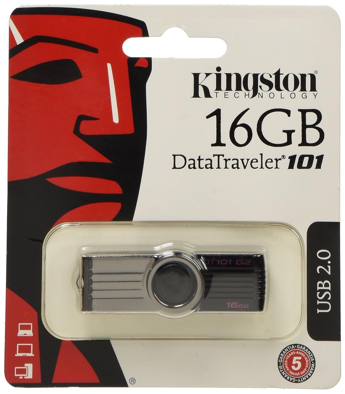Comparer KINGSTON TECHNOLOGY DATATRAVELER DT101G2 NOIR 16GO