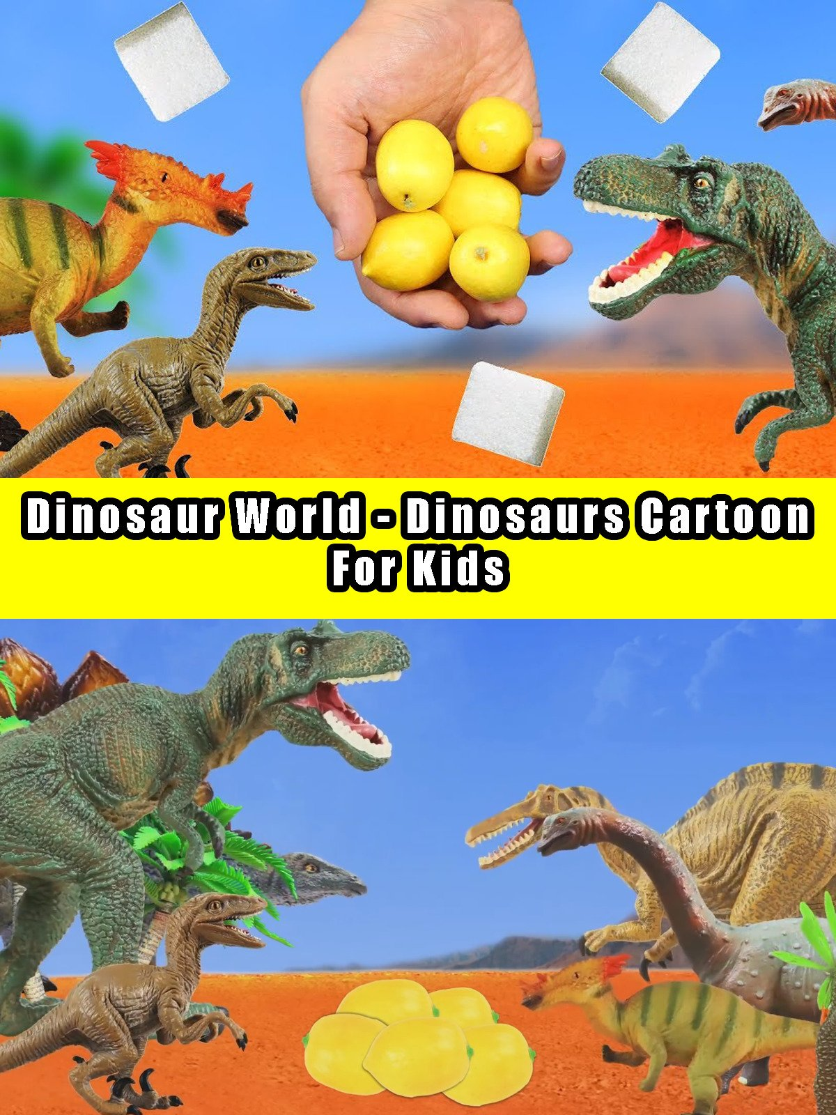 Dinosaur World - Dinosaurs Cartoon For Kids on Amazon Prime Instant Video UK