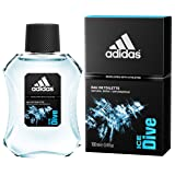 Adidas Ice Dive for Men, 3.4 Ounce (Color: Eau De Toilette Spray, Tamaño: 3.4 oz)
