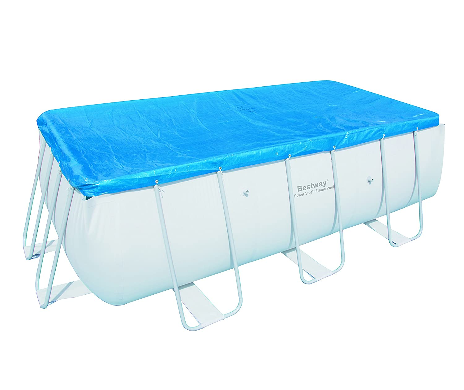 Piscine bestway rectangulaire for Achat piscine tubulaire rectangulaire