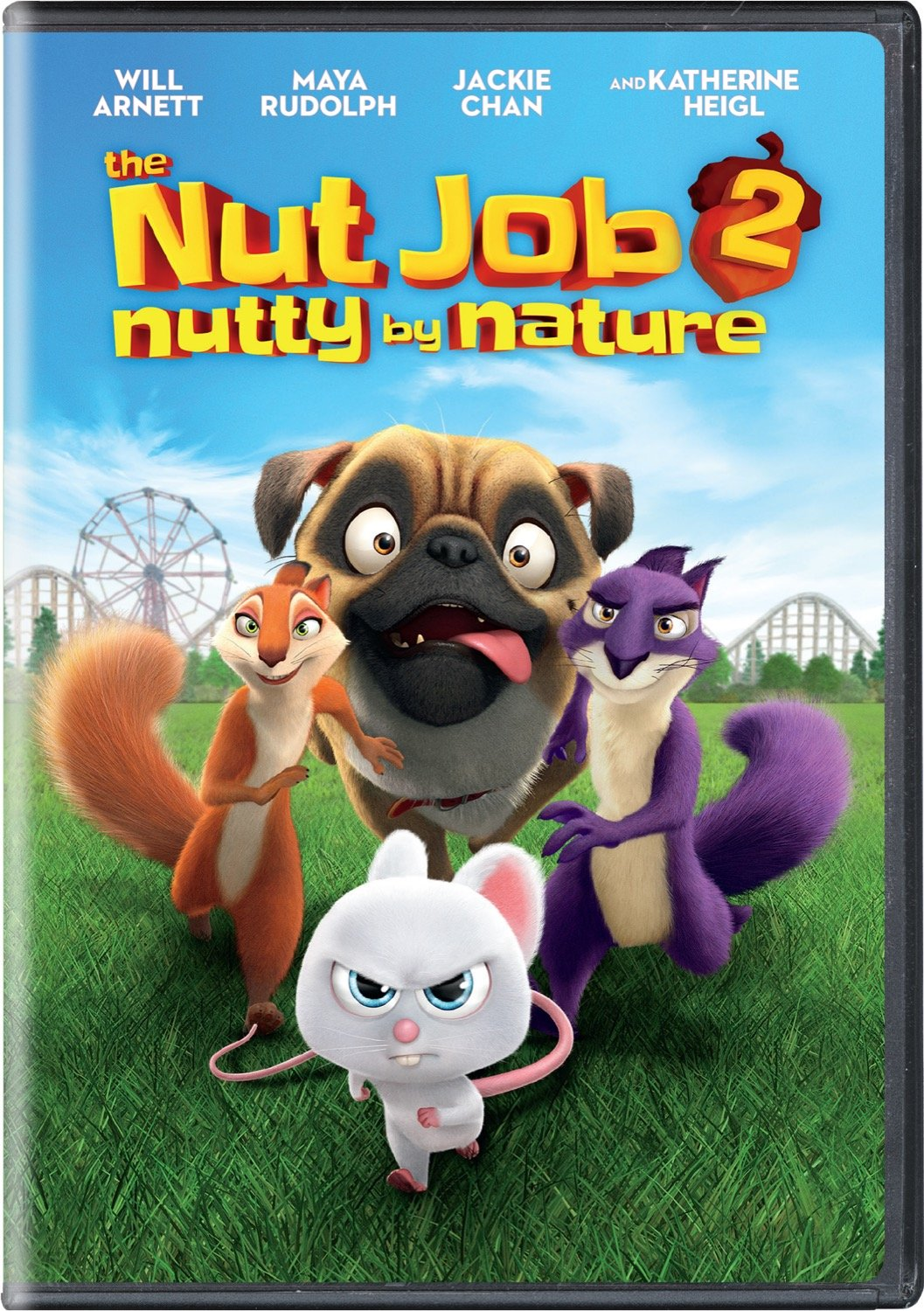 Book Cover: The Nut Job 2: Nutty by Nature