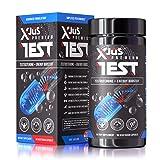 Xjus Testosterone Booster + Energy Booster, Increase Muscle Strength, Performance, All Natural Formula - Maca Root, L-Arginine, Fenugreek, Beta Alanine, B Vitamins + Caffeine for Energy