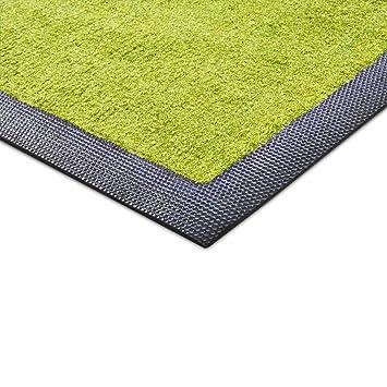 tapis d 39 entr e casa casa pura en vert clair ligne ligne joy ultra r sistant usage l. Black Bedroom Furniture Sets. Home Design Ideas