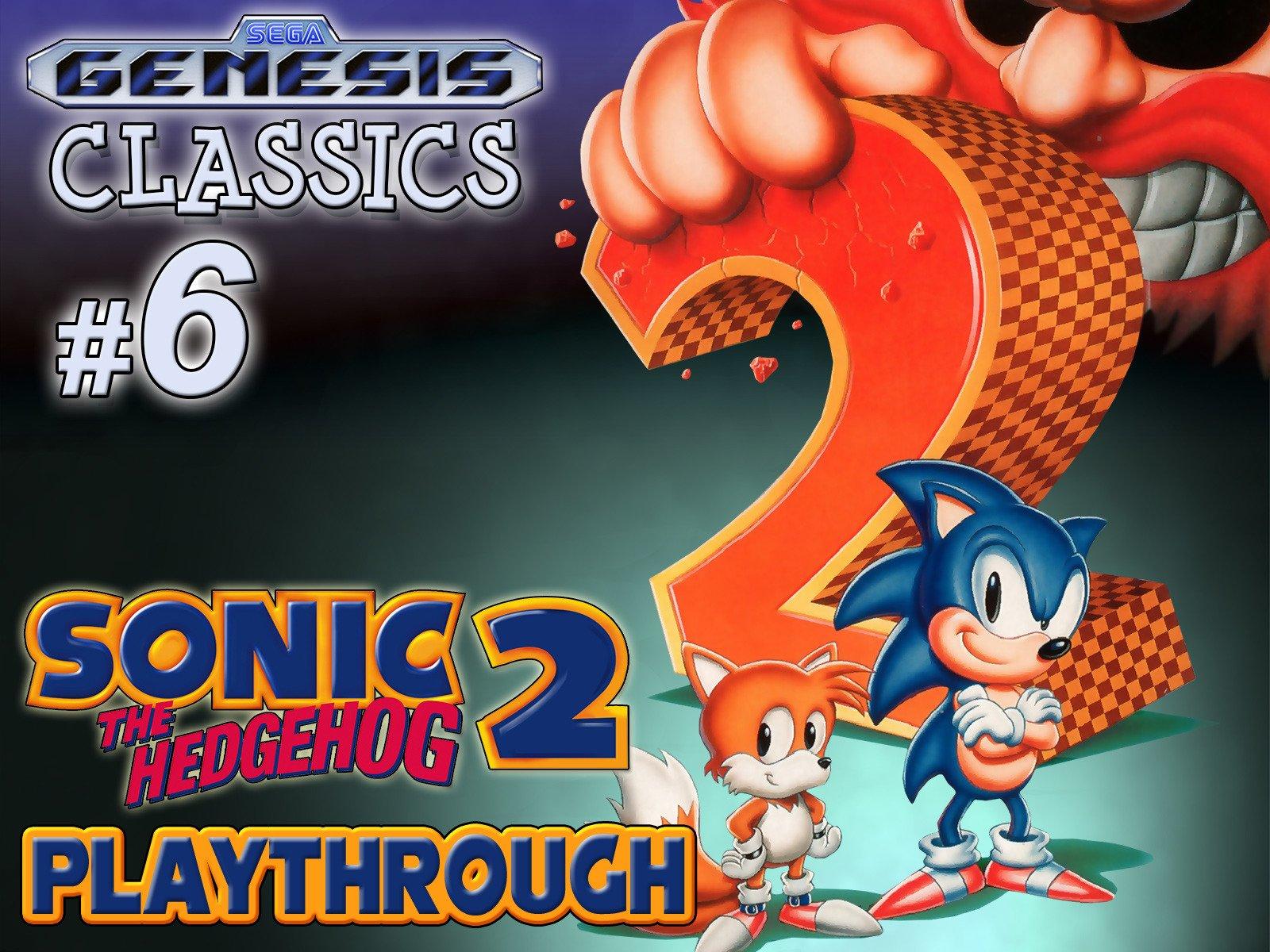 Clip: Sonic the Hedgehog 2 Playthrough (Genesis Classics 6) - Season 1