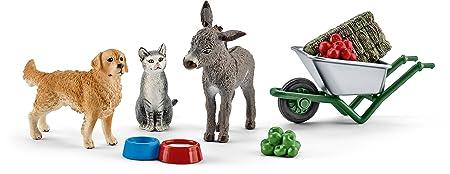 Schleich - 41423 - Accessoire pour figurine - Nourriture à la ferme