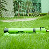 YeStar Garden Lawn Oscillating Sprinkler, Luxury 3 in 1 Yard Sprinkler System with One Touch Width Control & Flow Control, 3-way Adjustment, Waters Up to 3,000 Sq. Ft. (Color: green, Tamaño: 3-way)