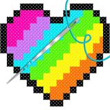 Cross Stitch Coloring by Number 2018