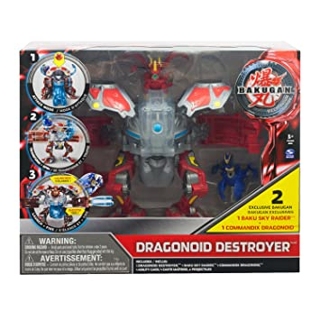Bakugan - 6018458 - Figurine - Dragonoid Destroyer