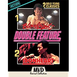 Bloodfight + Ironheart (Bolo Yeung Double Feature) [Blu-ray]
