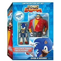 Sonic Boom: Season One, Volume One With Sonic and Eggman Figures