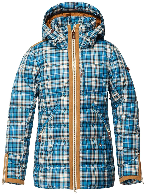 Damen Snowboard Jacke Roxy Torah Bright Influencer Plaid Jacket