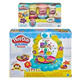 PD Play Doh Sprinkle Cookies Playset + Play Doh Confetti Compound