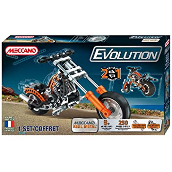 Meccano - 864200 - Jeu De Construction - La Moto Evolution