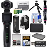 REMOVU K1 4K Video Camera with Integrated 3-Axis Gimbal Stabilizer with Smart Battery + 64GB Card + Backpack + Case + Tripod + Kit