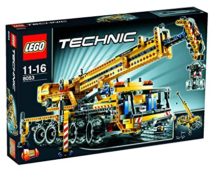 LEGO - 8053 - Jeu de construction - LEGO® Technic - La grue mobile