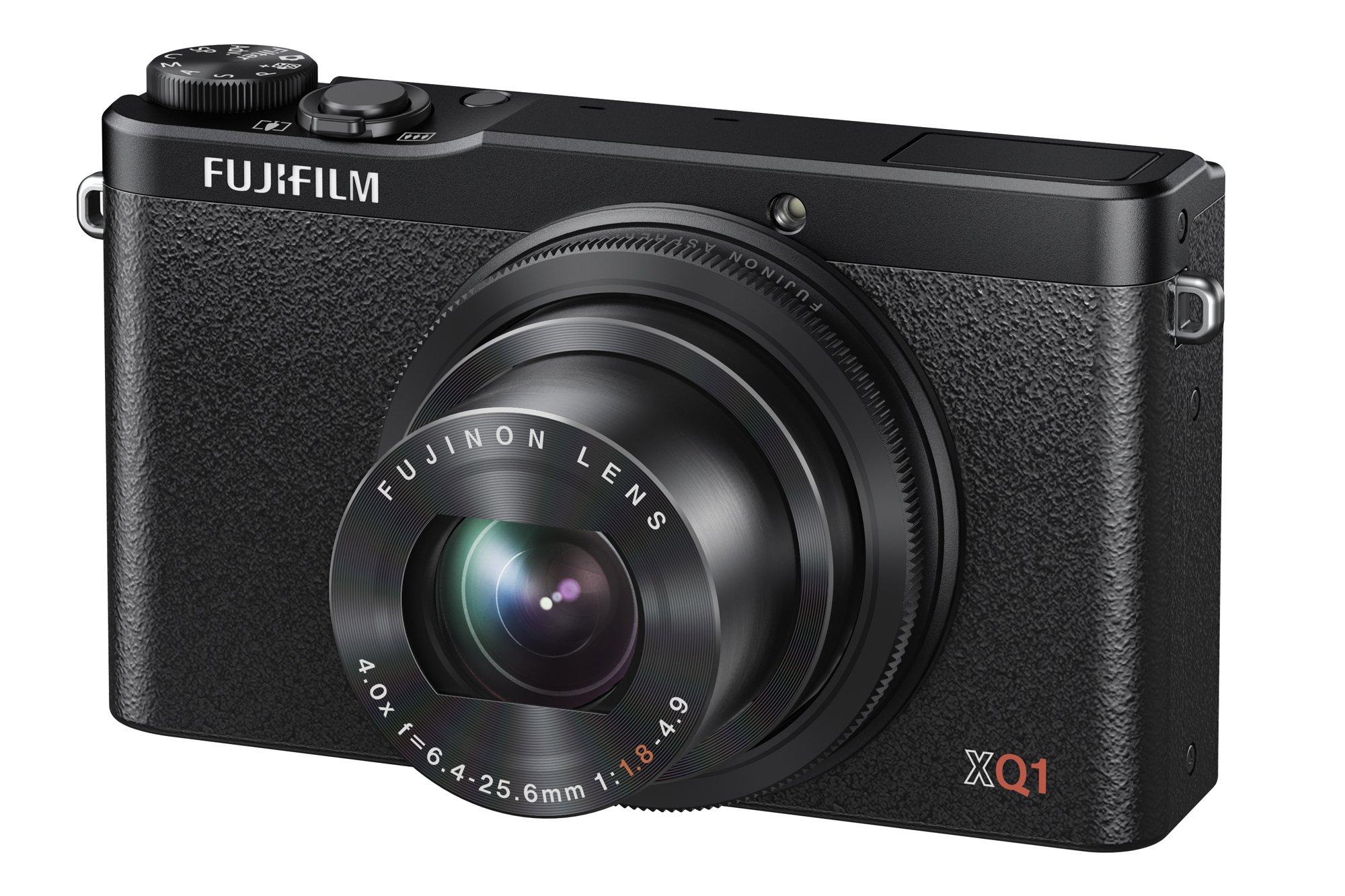 FUJIFILM プレミアムコンパクトデジタルカメラ XQ1 ブラック F FX-XQ1B