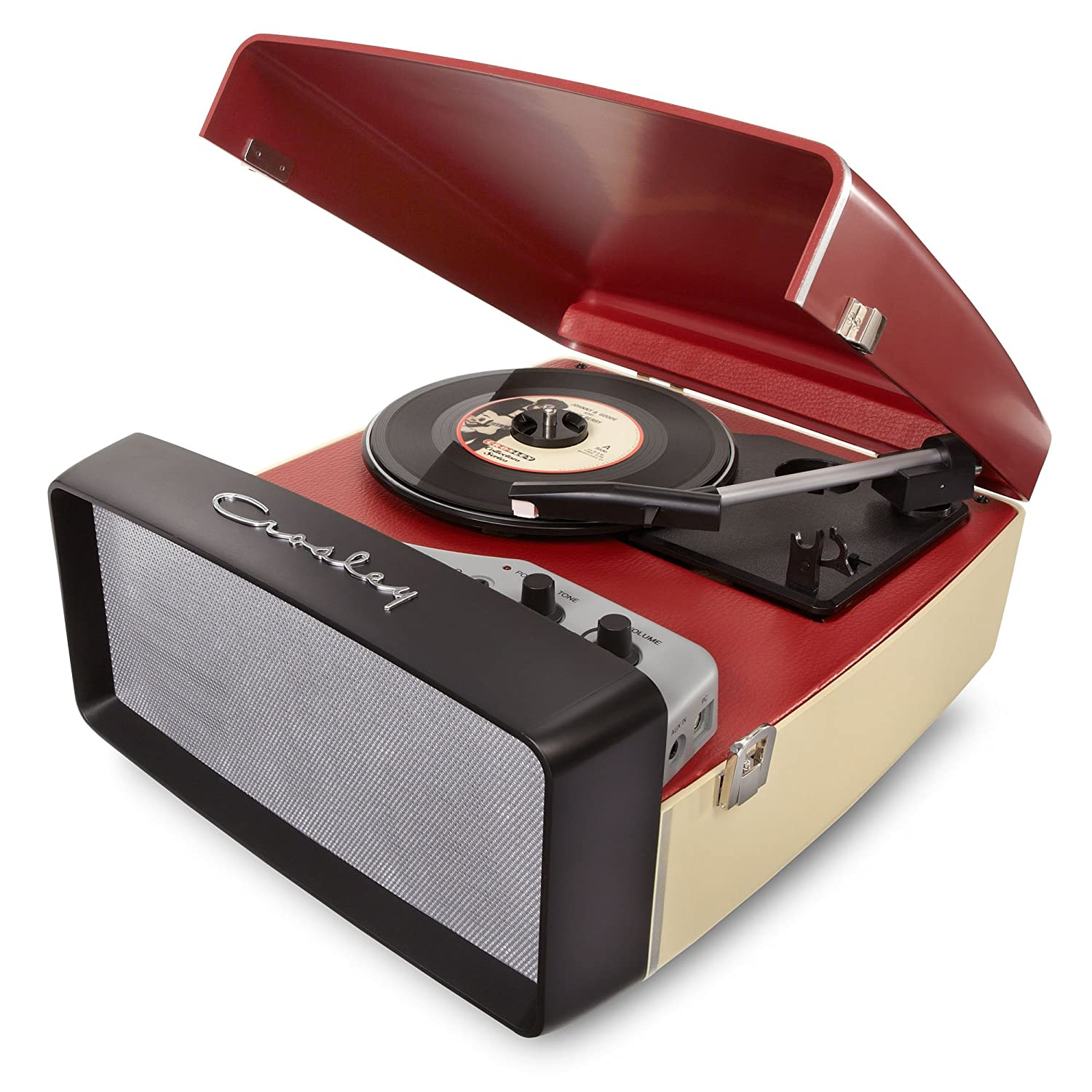 Crosley CR6010A Re Collegiate USB Enabled 3 Speed Turntable