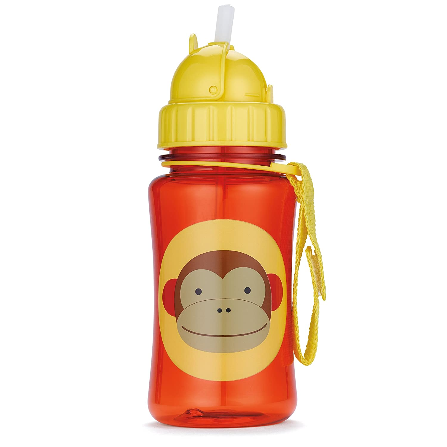Big Top Cups With Straws : Skip hop monkey toddler sippy cup straw bottle new nib ebay