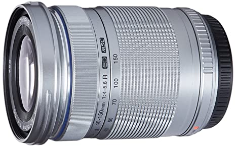 Olympus M. 40-150mm F4.0-5.6 R Zoom Lens (Silver) for Olympus and Panasonic Micro 4/3 Cameras at amazon