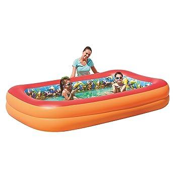 O deals mgm 54114 piscine gonflable 3d 2 boudins 262 x 175 x 51 cm 2 paires de - Piscine gonflable 2 boudins ...
