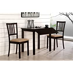 The Seasoning Products Sale Black Drop Leaf Table Set For