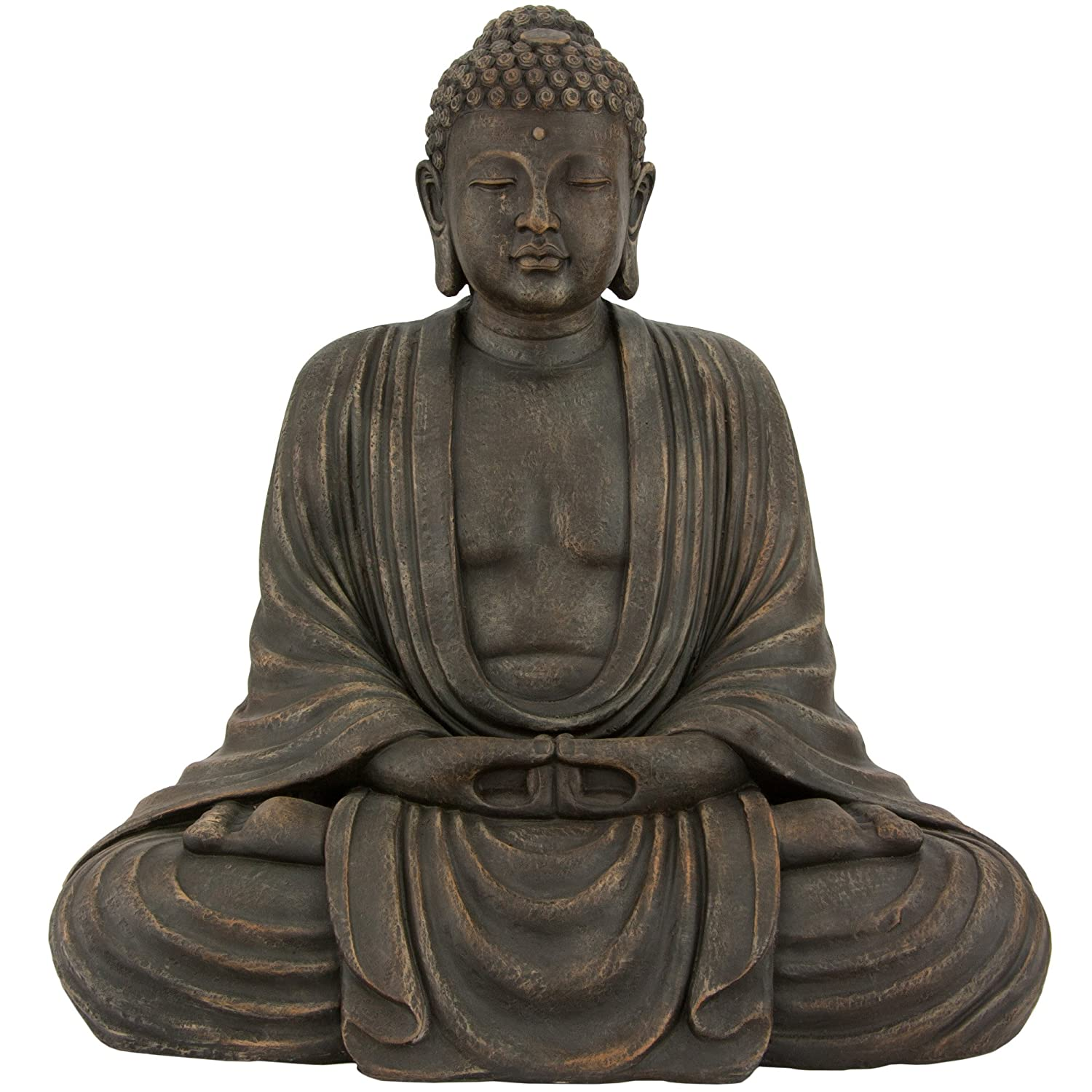 large buddha statues. Black Bedroom Furniture Sets. Home Design Ideas