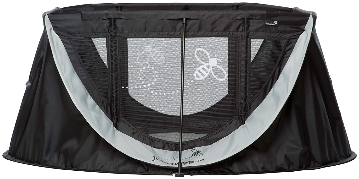 Parentlab JourneyBee Portable Crib, Black/Silver by Parentlab günstig online kaufen