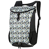 Mouteenoo Sport Gym Backpack with Shoes Compartment Drawstring Backpack for Men and Women Sackpack Carry on Bag for Travel or Hiking (Blue Pattern) (Color: Blue Pattern, Tamaño: One_Size)