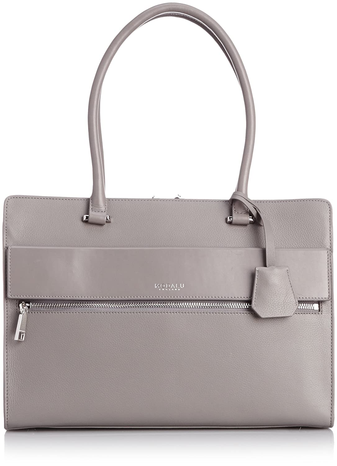 Amazon.co.jp: [モダル] MODALU ERIN STRUCTURED TOTE MH4736 SIMPLE GREY (SIMPLE GREY): シューズ&バッグ:通販