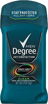 6-Pack Degree Men's Body Deodorant