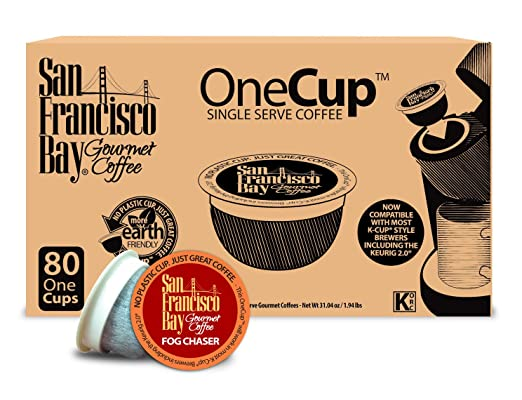 San Francisco Bay Fog Chaser OneCup coffee