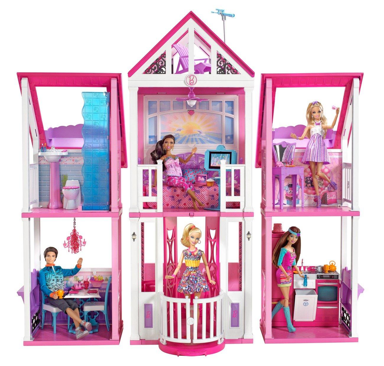 Maison barbie malibu - Maison de reve de barbie ...