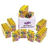 Creative Kids Bulk Crayons Classroom Classpacks Sets - 36 Packs of 24 Assorted Wax Coloring Crayons For Party Favors Preschool, Kindergarten, School & Art Crafts Supplies - Conforms ASTM Non Toxic