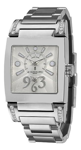 De Grisogono Women's TINOAC N02B Stainless Steel Bracelet Watch