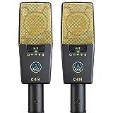 AKG Pro Audio C414 XLII Stereoset Vocal Condenser Microphone, Multipattern (Tamaño: C414)