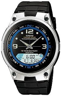 CASIO (カシオ) 腕時計 フィシングギア アナログデジタル AW-82-1A メンズ 海外モデル [逆輸入品]