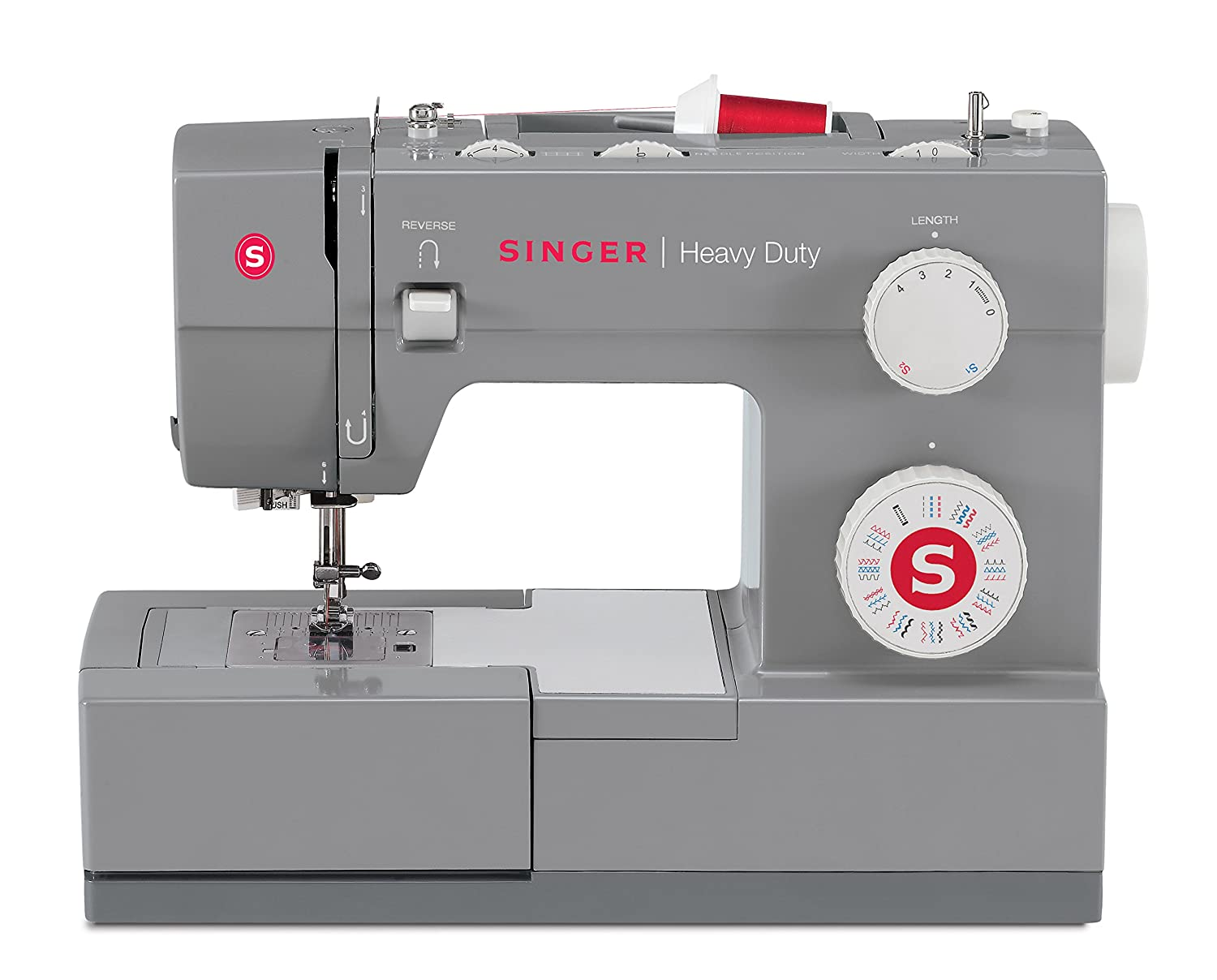 Singer P-1250 Professional Flat Bed 1250 Stitches Per Minute Sewing Machine