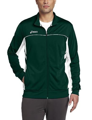 asics logo fleece jackets