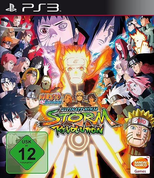 Naruto Shippuden: Ultimate Ninja Storm Revolution, PS3