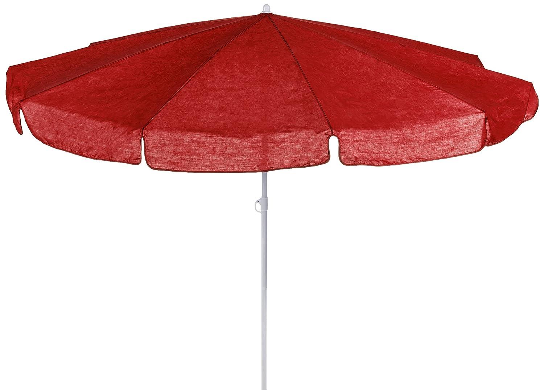 beo 120876 Sonnenschirm, Durchmesser 200 cm, rot günstig bestellen