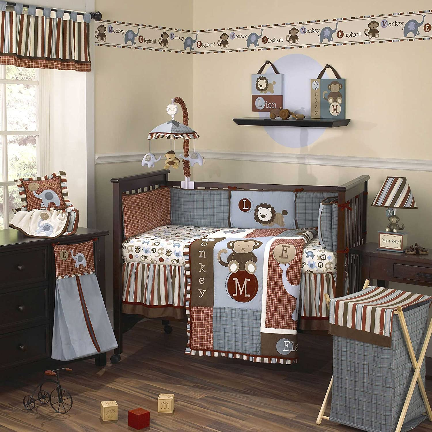 Boy Nursery Bedding. Make your son's nursery as cute as he is with the Pottery Barn Kids collection of boy nursery bedding. We have a variety of styles and patterns to choose from, so you're sure to find a set that matches the theme or color scheme you're interested in using.