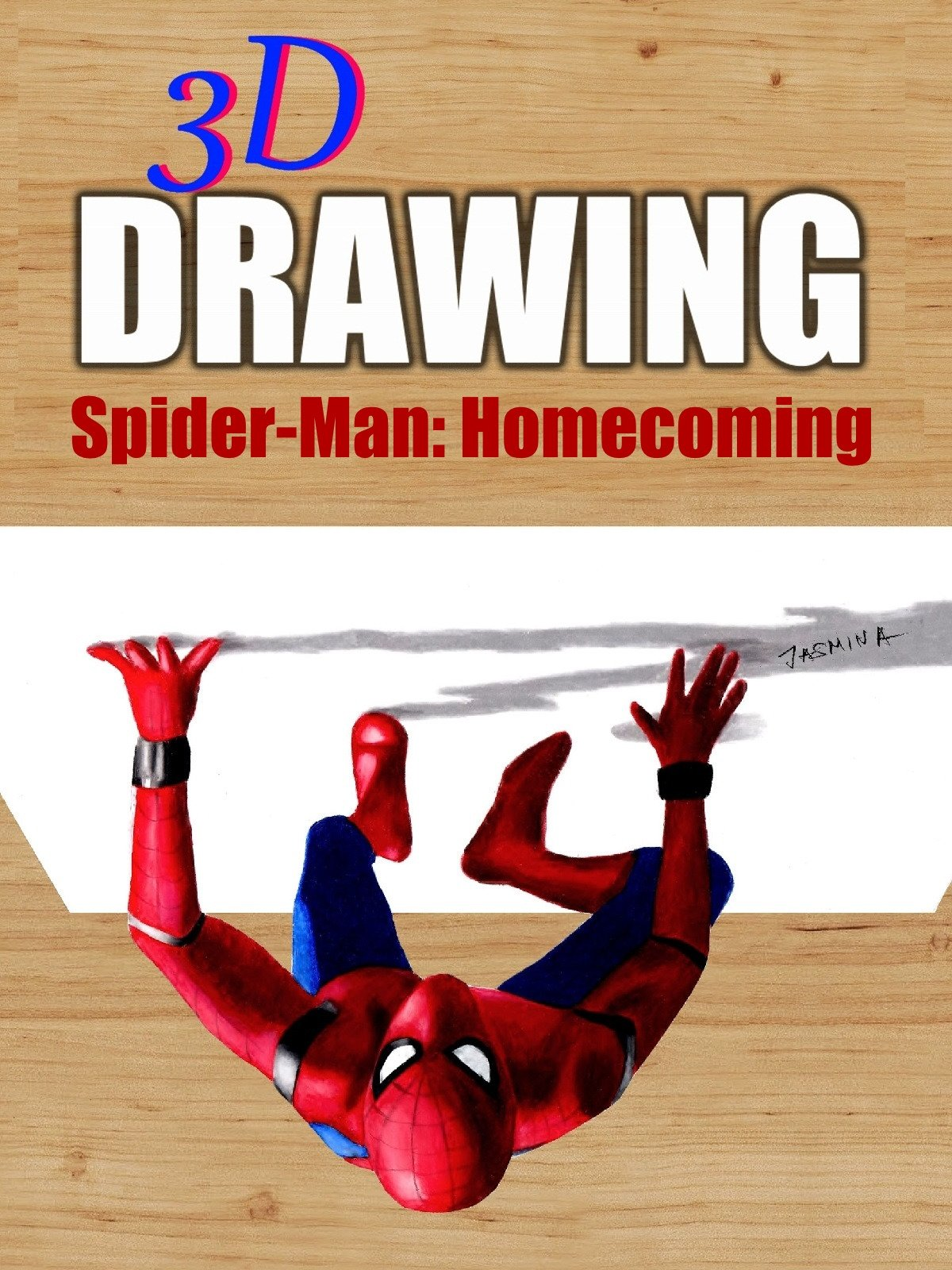 Clip: 3D Drawing Spider-Man: Homecoming