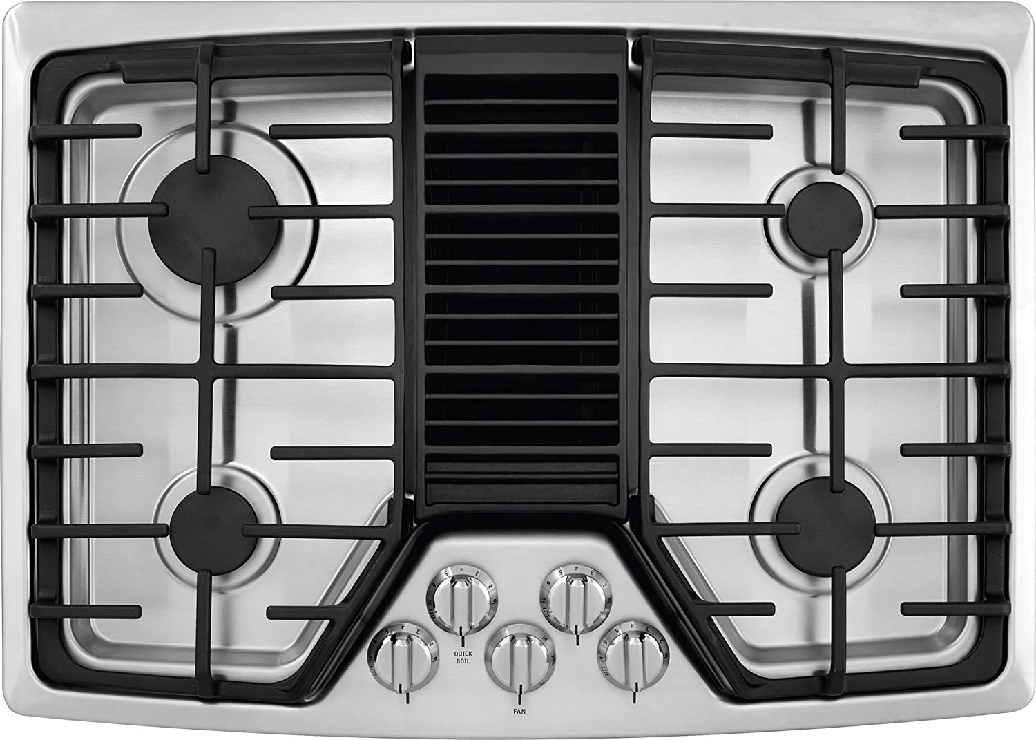"Frigidaire 30"" Built In Downdraft Stainless Steel Gas Cooktop RC30DG60PS"