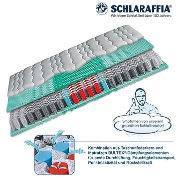 Schlaraffia Viva Plus Taschenfederkern Plus Matratze 90x200 cm H1