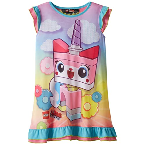 Lego Girls 4-12 Dorm Movie Unikitty Nightgown