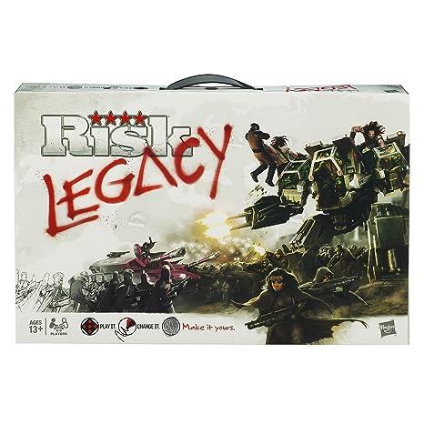 Hasbro - Jeu de société (anglais) - Risk Legacy