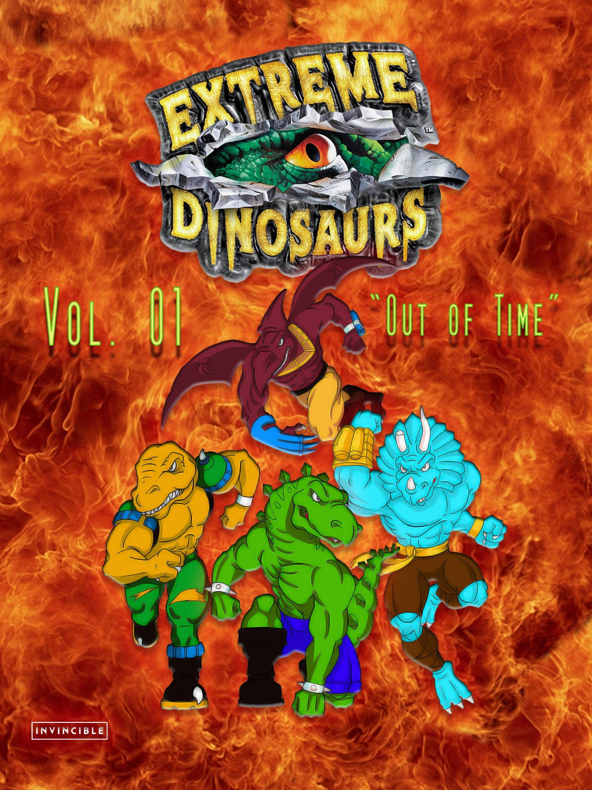 Extreme Dinosaurs Vol. 01Out of Time