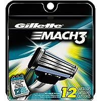 12-Count Gillette Mach3 Men's Razor Blade Refills